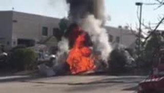 Video shows moments after El Cajon plane crash