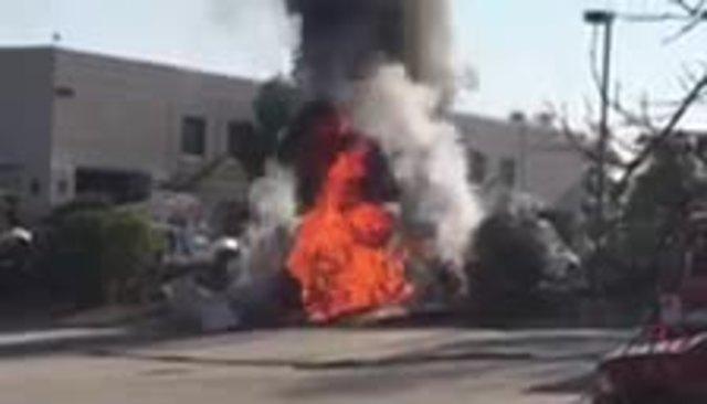 3 hospitalized after plane crash in El Cajon