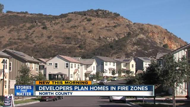 Communities planned for high risk fire zones in San Diego County