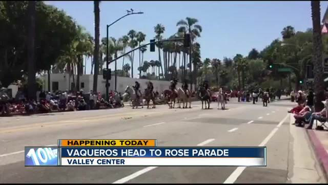 Valley Center Vaqueros Head To Pasadena For Rose Parade