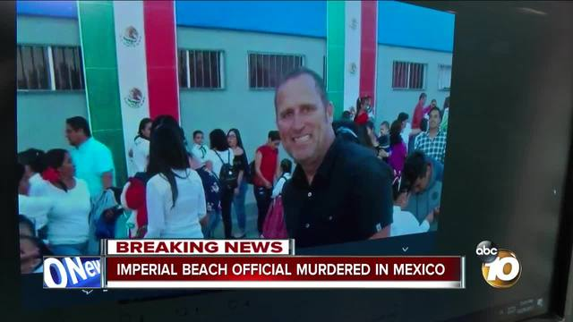 California city official is gunned down while vacationing in Mexico