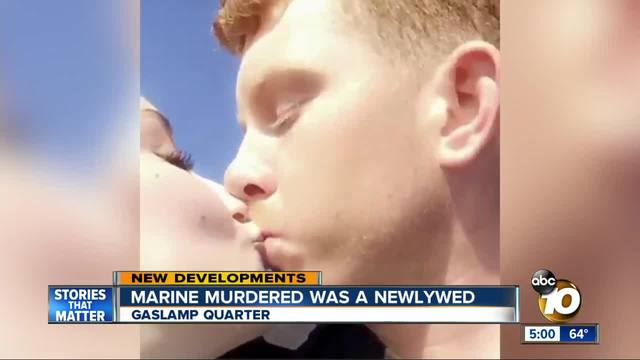 Arrests made in fatal stabbing of Marine in Gaslamp Quarter