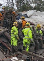 PHOTOS: Dramatic mudslide rescues