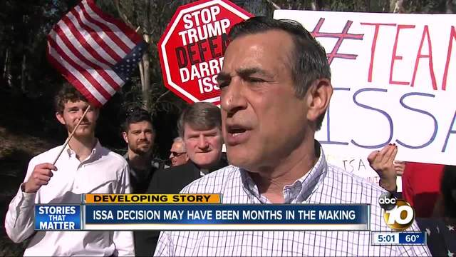 Darrell Issa Considering Running in 50th if Rep. Hunter Resigns