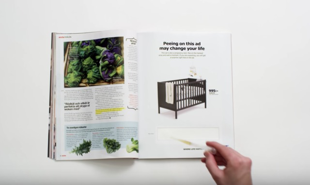 Ikea Pregnancy Test in Ad for Crib Is Newest Marketing Gimmick