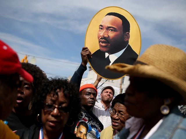 Volunteers honor Dr. King with service