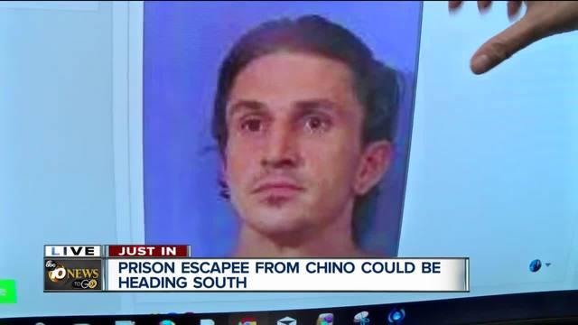San Diegan escapes Chino prison