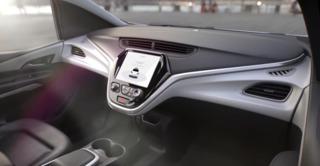 Pedestrian strikes self-driving car at stoplight
