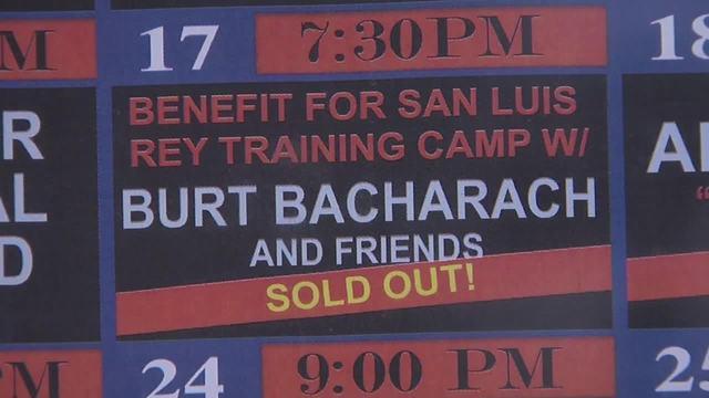 Benefit concert to help San Luis Rey Downs Training Center