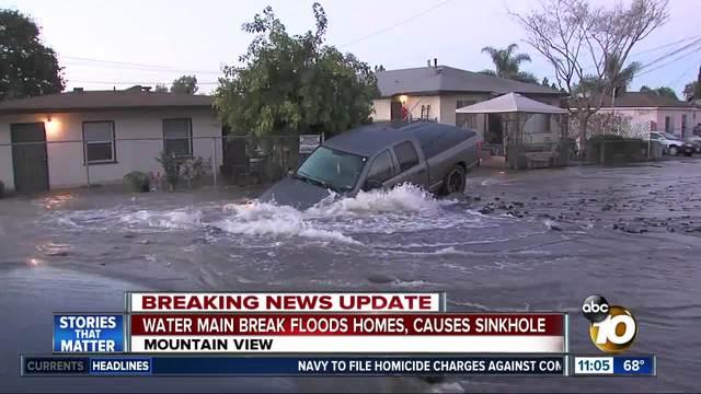 Water Sinkhole
