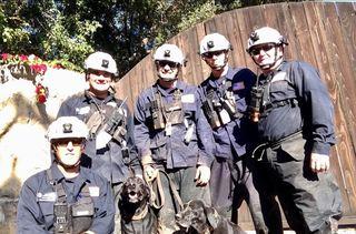 San Diego rescue crew returns from mudslides