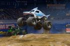 Monster Jam drivers throttle into Petco Park