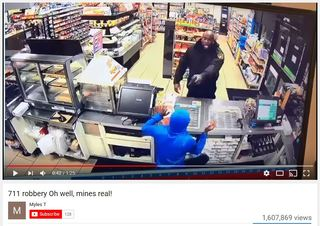 Video: LA guard thwarts 7-Eleven robbery