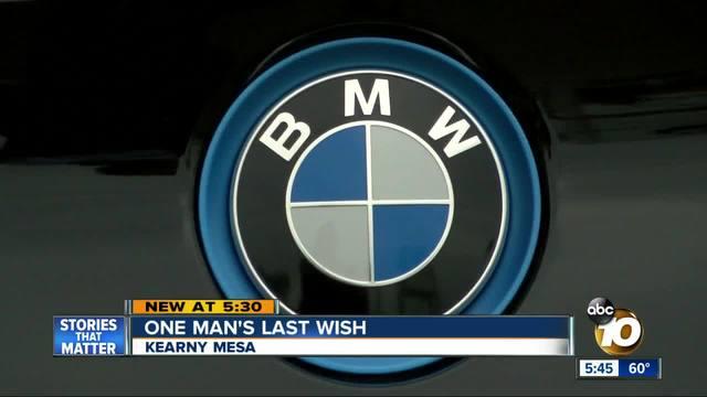 San Diegan-s last wish makes his wife roll her eyes