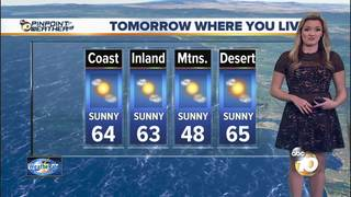 Jen's Forecast: Temps on the way up