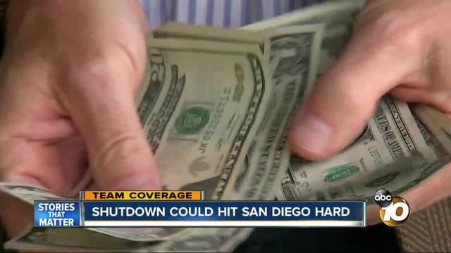 Shutdown could hit San Diego even harder
