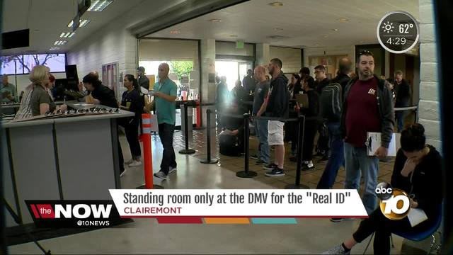 Real ID now available at the DMV