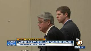 Ex-marine found not guilty in deadly DUI crash