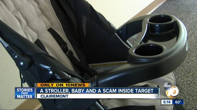 Man says women with child in stroller tried to scam him at Target