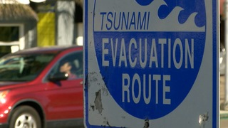 Tsunami plans are similar to wildfire alerts