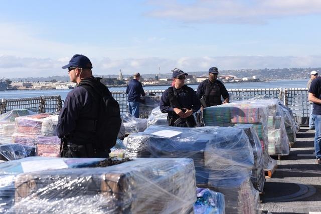 Alameda-based Coast Guard ship seizes $78 million in cocaine