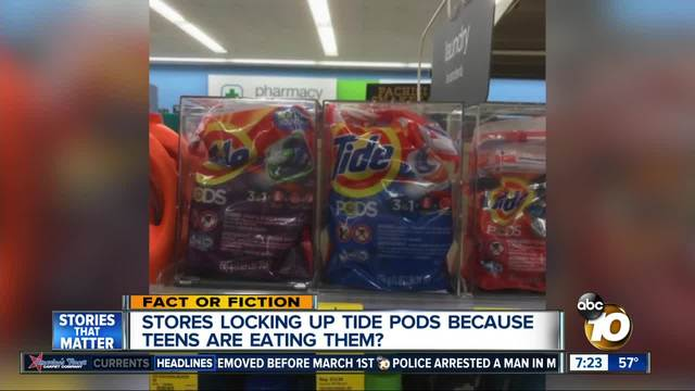 Viral Tide Pod challenge has serious health consequences