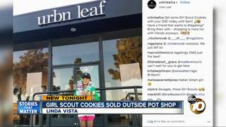 Girl Scout rakes in cookie sales at dispensary