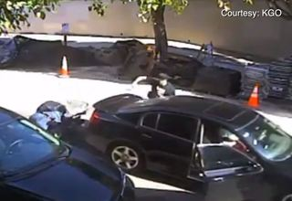 SF burglary suspect runs over cop, accomplice