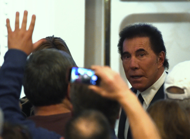 Steve Wynn's casino company stock sinks after he quits