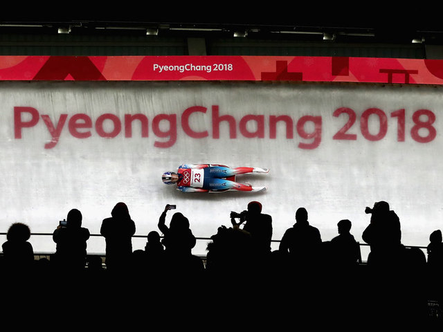 American Erin Sweeney Crashes in Her Final Luge Run