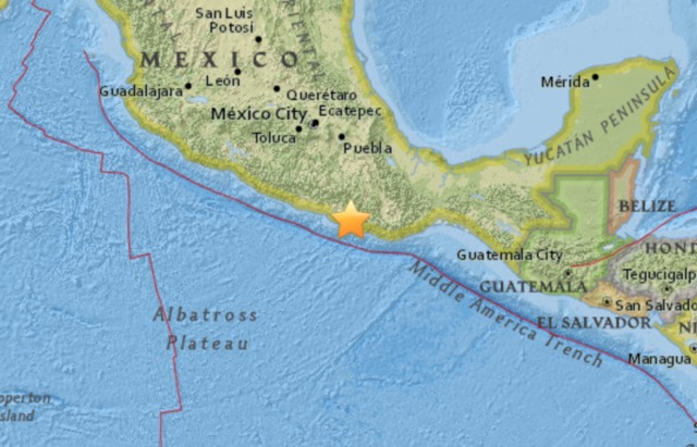 Strong 7.2M earthquake hits Mexico