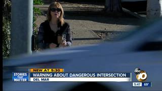 Pedestrians wary of Del Mar intersection