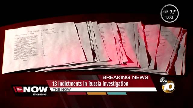 13 Russians indicted for interference in election