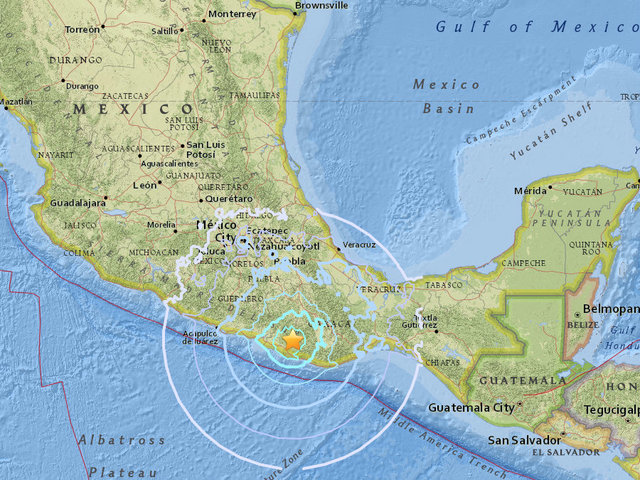 59 magnitude earthquake hits southern mexico but no damage reported 10newscom kgtv tv san diego