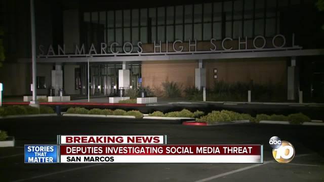San Marcos High threat