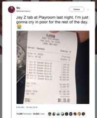 Jay-Z gets epic bar tab for champagne he owns