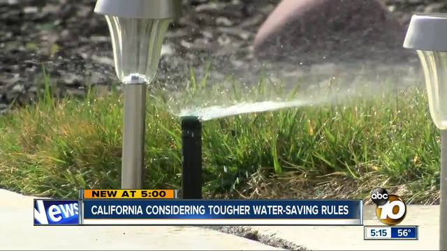 State considering hefty fines for wasting water