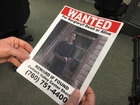 'Dead or Alive' posters for San Diego-area crime