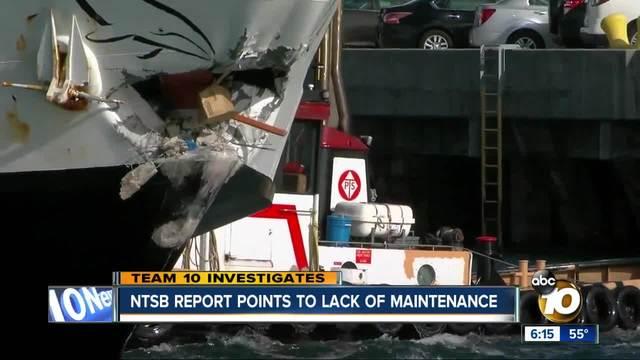 Hornblower boat crash report released