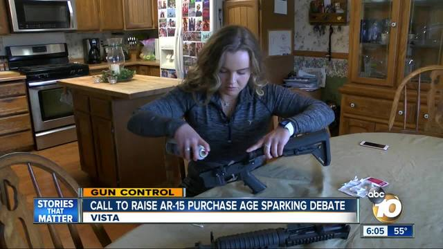 Call to raise purchase age sparking debate