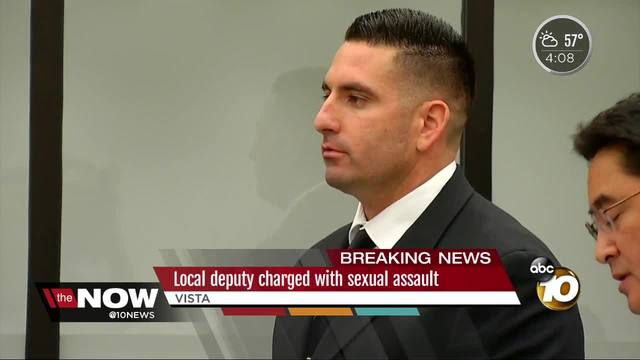 Deputy charged with sexual assault