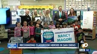 Classroom Heroes: Nancy Magor