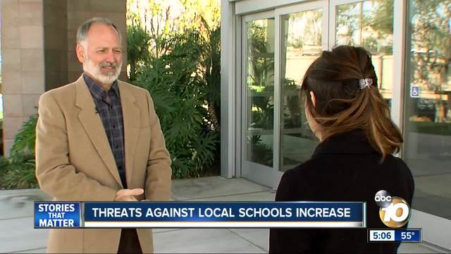 Threats against local schools increase