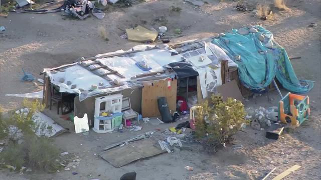 Joshua Tree Couple in Custody After Children Were Discovered in Makeshift Shelters