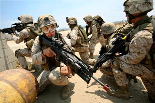 Women join male-only Camp Pendleton training