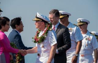 USS Carl Vinson makes port visit in Vietnam