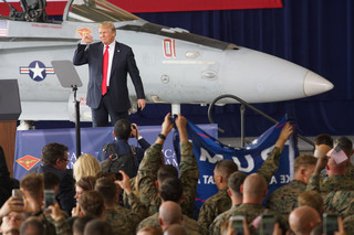 PHOTOS: President Trump speaks at MCAS Miramar