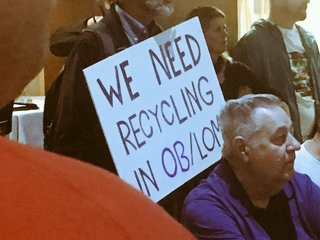 Controversial recycling center getting evicted