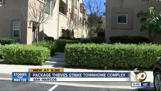 Package thieves strike San Marcos community