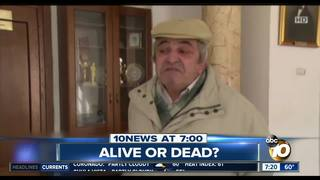 Court insists living man is dead?